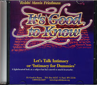 Let's Talk Intimacy 'Intimacy for Dummies'