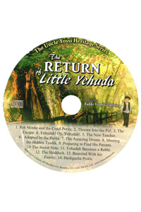 Return of Little Yehuda CD - Uncle Yossi Heritage Series