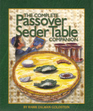 Complete Passover Seder Table Companion 5.5 x 6.5