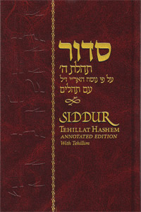 Siddur Annotated Hebrew with English Instructions Standard Edition