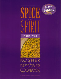 Spice and Spirit - Passover cookbook