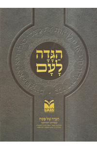 Haggadah La'am Im Madrich - Hardcover