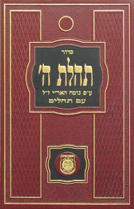 Siddur TH with Tehillim - New Print, Standard Edition