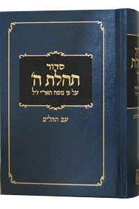 Medium Siddur & Tehillim, Clear Print Edition