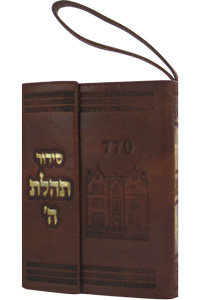 Siddur Pocket w Tehillim Magnet Leather-like Brown