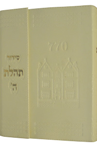 Siddur Medium New, with Magnet Leather-like Off-White