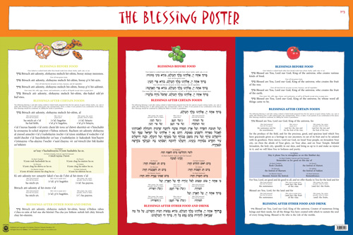 Blessing Poster 24 x 36