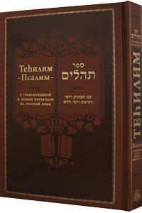 Tehillim Hebrew Russian Transliterated & Translated 6 x 9